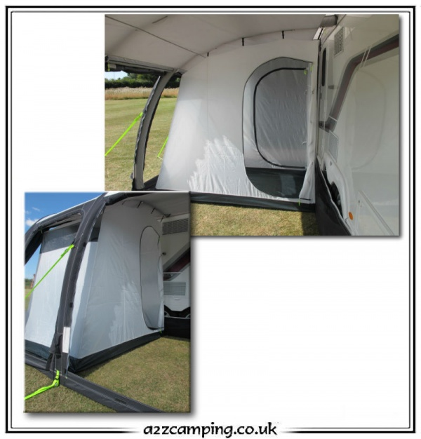 sc 1 st  a2zc&ing & Kampa Rally Awning Two Berth Shaped Inner Tent